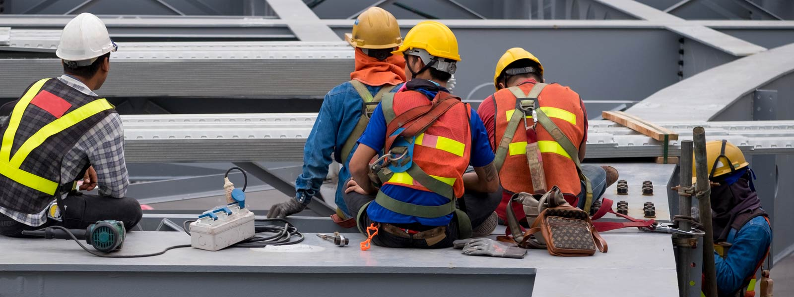 Construction-Workers-Wearing-Safety-Supplies Unlimited